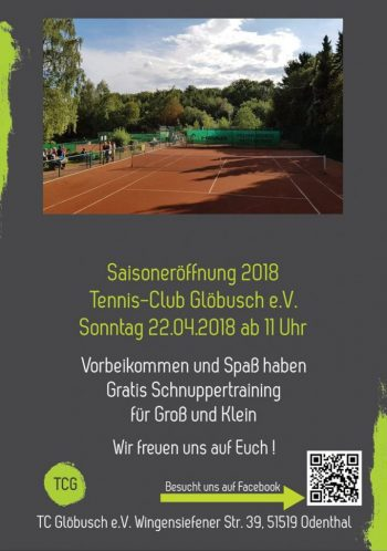 Saisoneröffnung TC Glöbusch 2018